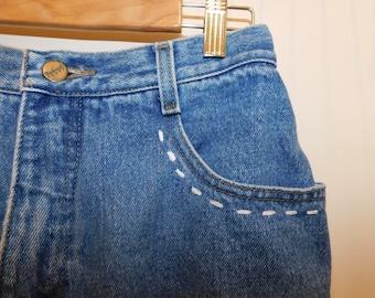 Vintage/ Worn-in Jean Bermuda Shorts