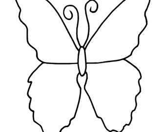 Coloring Page: Butterfly