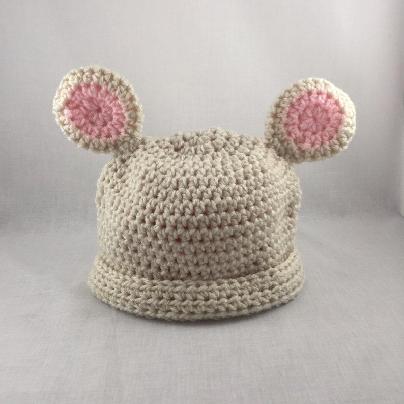 7ad6c47141b Baby Bear Hat Newborn Bear Hat Crochet Baby Hat Photo