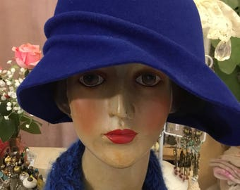 Nice Hat rabbit quality moleskin retro 1930