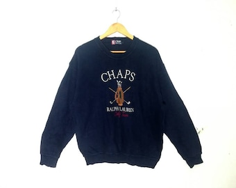 55e507f2d383 Vintage Chaps by ralph lauren embroidery polo club logo
