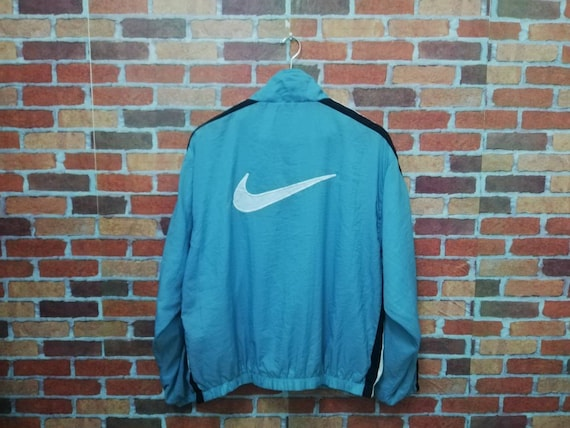 Vintage nike 90s big embroidery logo sweater