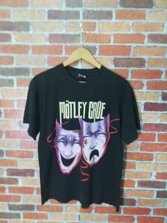 Vintage motley crue theatre of pain promo tshirt