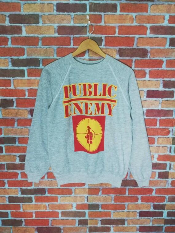 Vintage public enemy big printed logo band