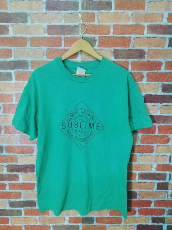 Vintage 90s sublime band tshirt