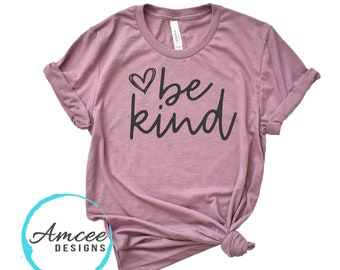 1005 - be kind Heart scribble, Cute be kind Heart Shirts, kindness tees, positive T-shirts, More Styles / Tanks, Kids & Unisex Tees XS-4XL