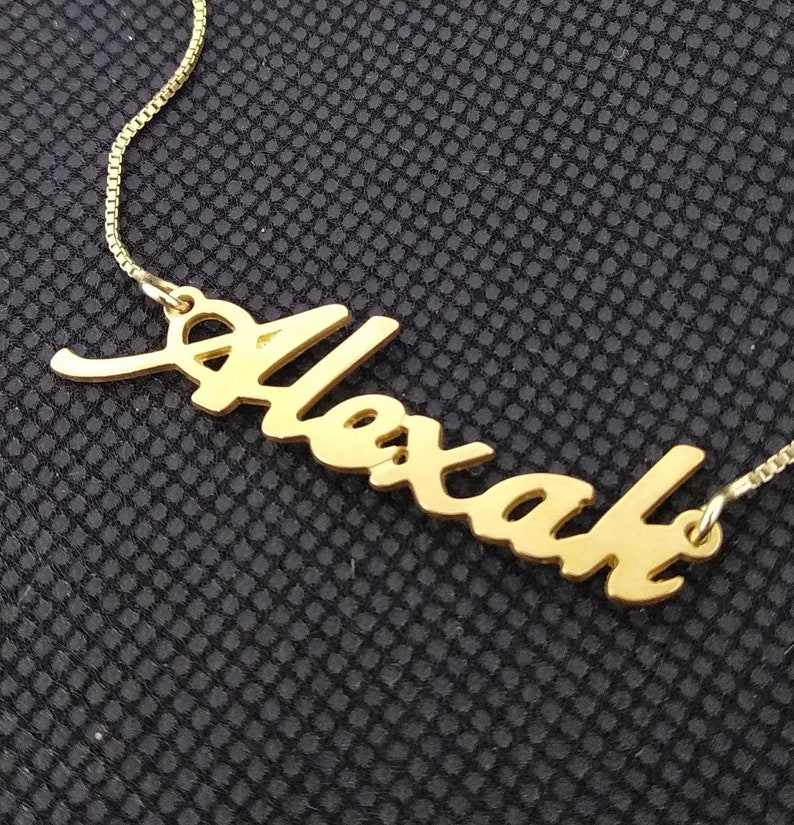 Personalized Name Necklace • Customized Your Name Jewelry • Best Friend  Gift • necklace with name • gold plated name • MOTHERS DAY GIFT