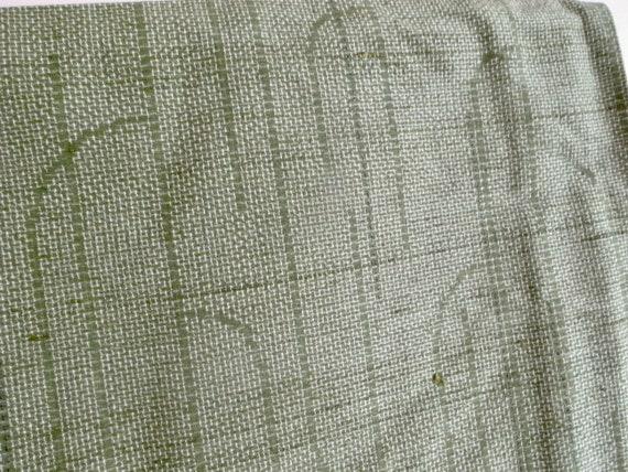 Vintage silk pongee kimono, 150cm - Wabi sabi - k… - image 5