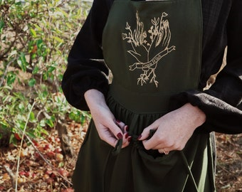 Green Witch Harvest Apron