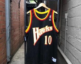 24bbd9c50fd Vintage Atlanta Hawks Mookie Blaylock Jersey