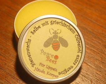 olive oil cream, bees wax cream