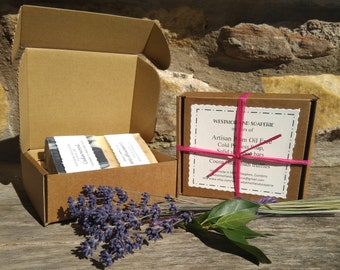 Gift box with 2 Soaps
