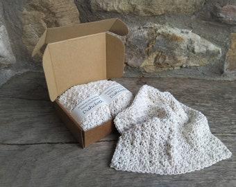 2 Hand Crocheted Dishcloths
