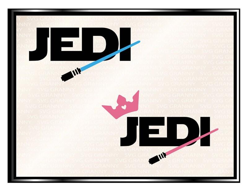 Jedi bo jpeg DXF Jedi SVG File png Cricut Vector eps Silhouette instant download jedi girl