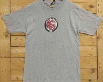 Steve Caballero Size Small Vintage Stussy Inside out Print World Tour SS Tshirt Streetwear America Skateboard