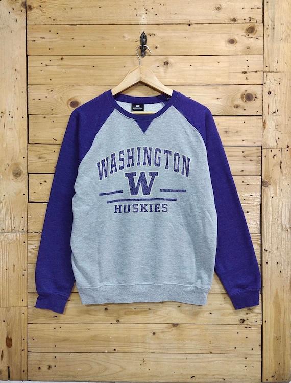 Vintage UNIVERSITY of WASHINGTON HUSKIES raglan sw