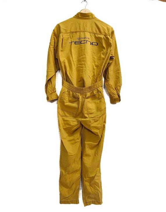 Vintage TOYOTA TECHNO coveralls jacket foreman jac