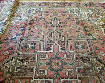 Antique Serapi Rug Etsy