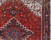 10 x 14 or 9.9 x 13.5 Antique Top Quality Fine Azerbaijan Unique Decorative Hand Knotted Geometric Area Rug