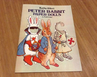Peter Rabbit Paper Dolls