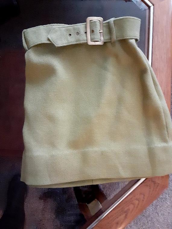 vintage 1970s mini skirt