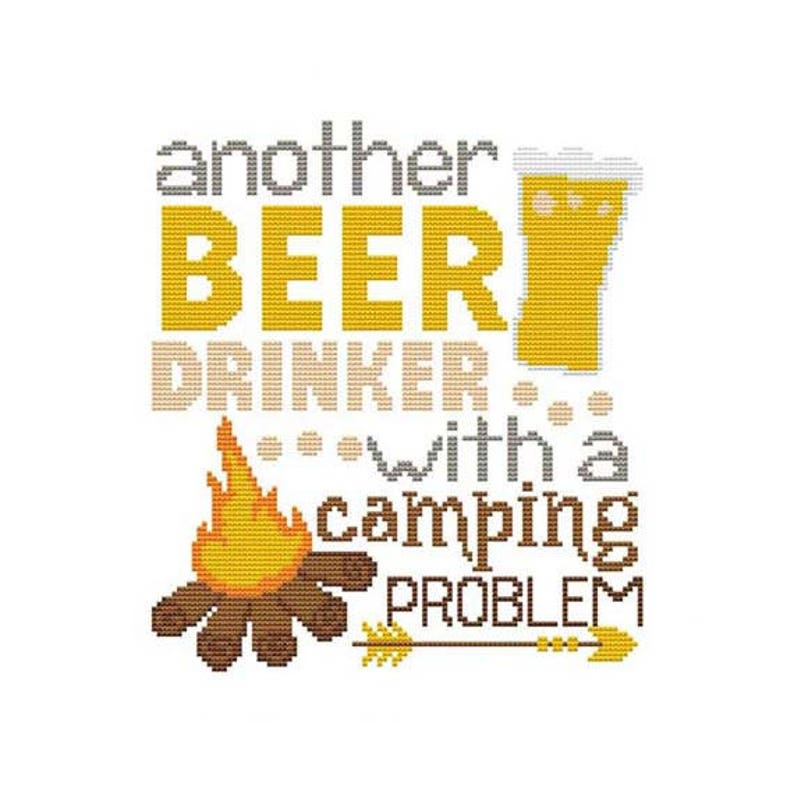 Another Beer Drinker With A Camping Problem Counted Cross image 0