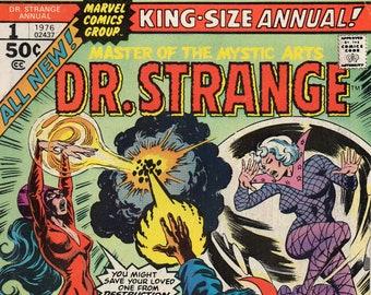 Dr. Strange Annual #1 1976 FN++