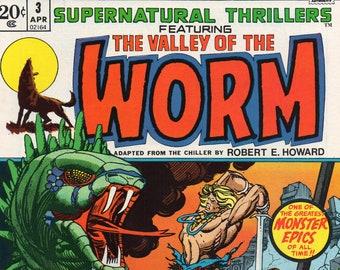 Supernatural Thrillers #3 NM 1973
