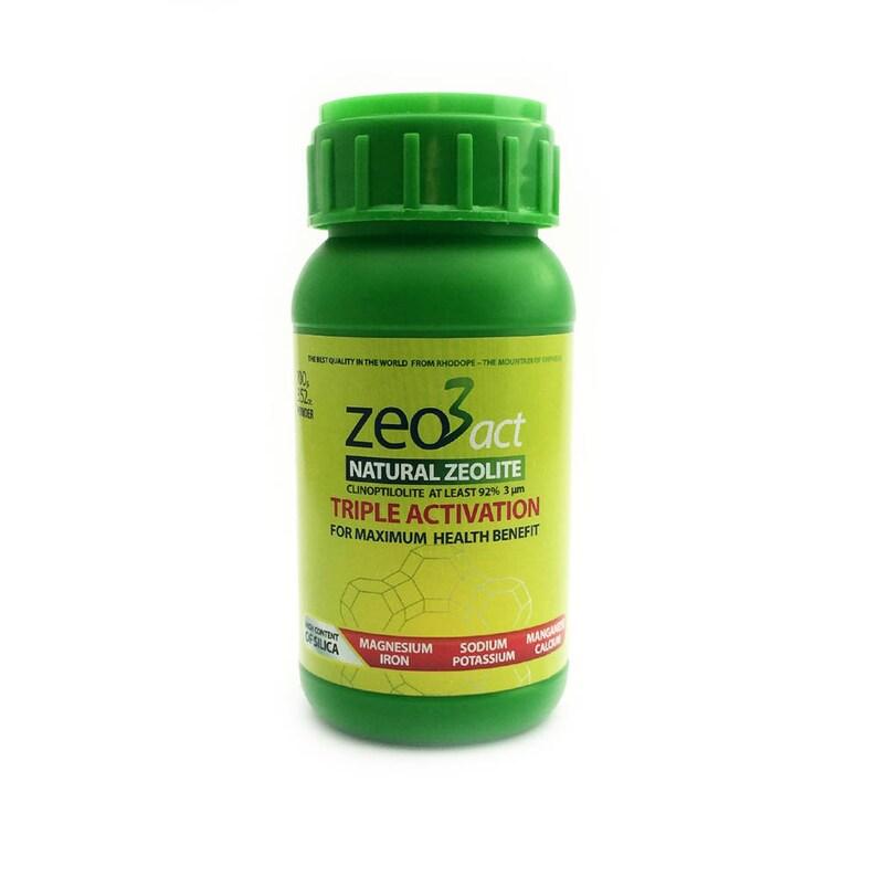 Pure natural ultra fine zeolite powder detox and immune system booster 100g