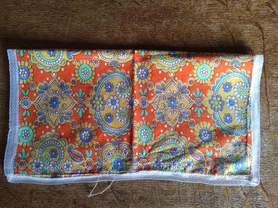 Vintage 1960s psychedelic print handkerchief. - image 3