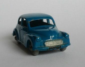 Vintage 1960s Matchbox Lesney No. 46a Morris Minor 1000 - BLUE