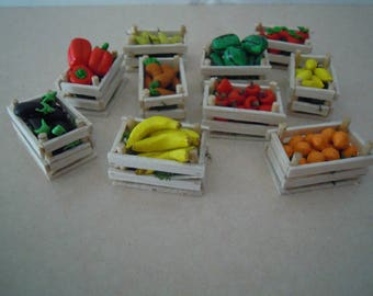 Miniature Fruit Cassettes