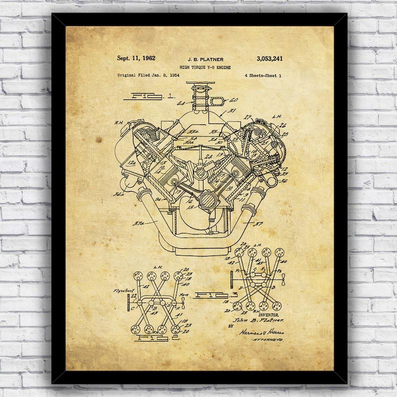 papercraft v8 engine diagram wiring diagram list high torque v8 car engine automotive patent blueprint design papercraft v8 engine diagram
