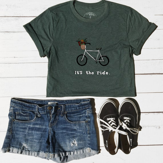 It s The Ride Bicycle T-Shirt Gift for Bikers  6210e8197