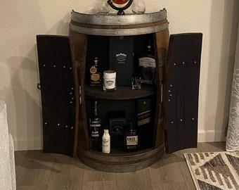 1/2 Barrel Storage Cabinet