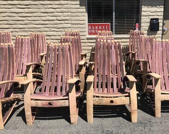 Wine Barrel Chair Kit
