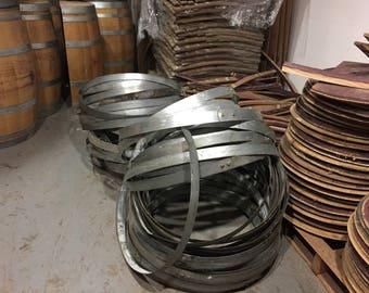 Wine Barrel Hoops ( 4 per order )