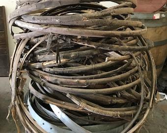 Wine Barrel Willow Hoop ( 4 per order )