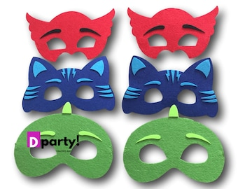 09f303fd46 PJ Masks Party Mask