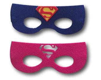 Supergirl mask etsy superman party mask superhero party favors superhero party masks superhero birthday supergirl birthday girl superheroes party maxwellsz