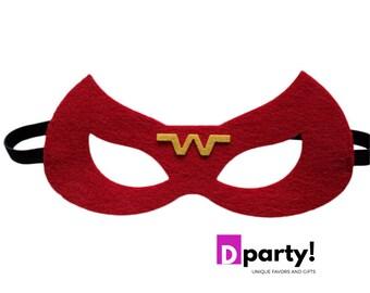 Fantastic Supergirl Mask Template Illustration - Resume Template ...