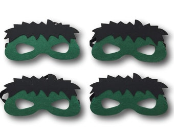 Hulk Party Favors, Hulk Party Masks, Superhero Party Favors, Superhero Party Masks, Hulk Birthday