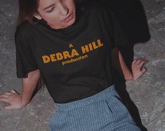 Debra Hill, Producer & Horror Queen - Short-Sleeve Unisex T-Shirt - Halloween John Carpenter Inspired Tee