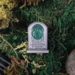 Madame Leota Enamel Pin - Haunted Mansion Inspired Pin from the Cinema Cemetery Collection - halloween spooky pin