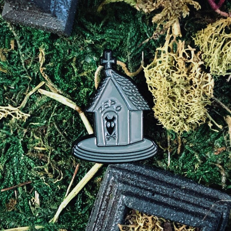 Head of the Team Enamel Pin  Zero Nightmare Before Christmas image 0