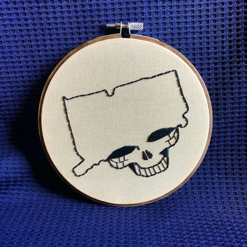CT Stealie Hoop Art