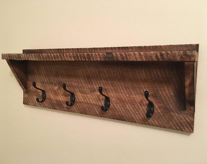 Custom Rustic Coat Rack