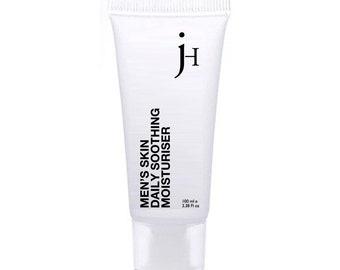 JH Grooming Mens Organic Face Moisturiser 100ml