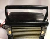 1950 39 s Art Deco Zenith AM Bakelite tube radio, WORKS