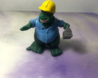 Awesome Vintage Dinosaurs Nostalgia Vintage 1991 Dinosaurs ABC TV Show Earl Sinclair Action Figure  Cake Topper